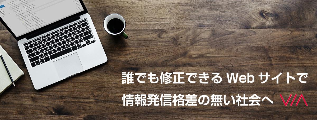 中小企業のWebマーケティング VIA株式会社